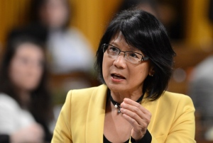 NDP MP Olivia Chow asks a question during question period in the House of Commons on Parliament Hill in Ottawa on Tuesday, June 11, 2013. (Sean Kilpatrick / THE CANADIAN PRESS)