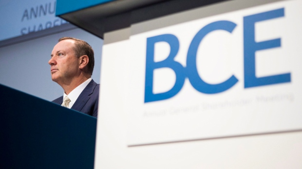 BCE CEO George Cope in Toronto,  May 9, 2013