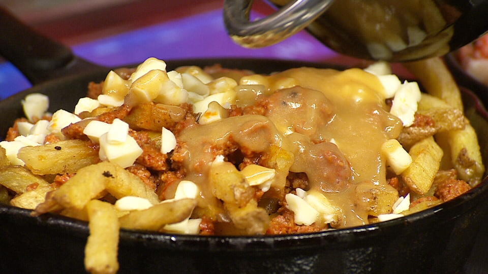 Where can you find the #1 poutine in Montreal?