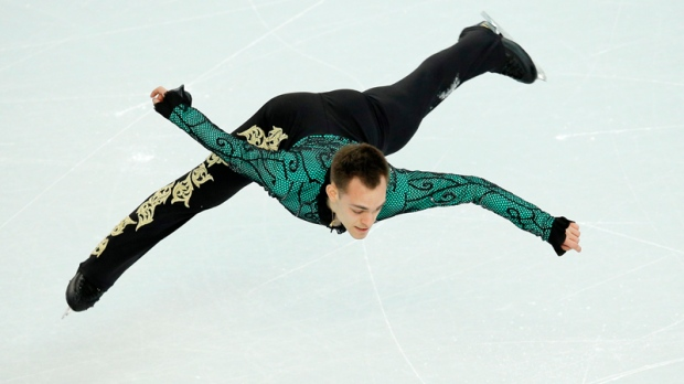 Parkinson competing for Italy at Sochi