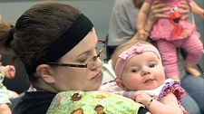 Mommy Connections is an eight week post-natal program for moms and babies up to one year old.