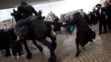 Ultra-Orthodox Jews clash with police