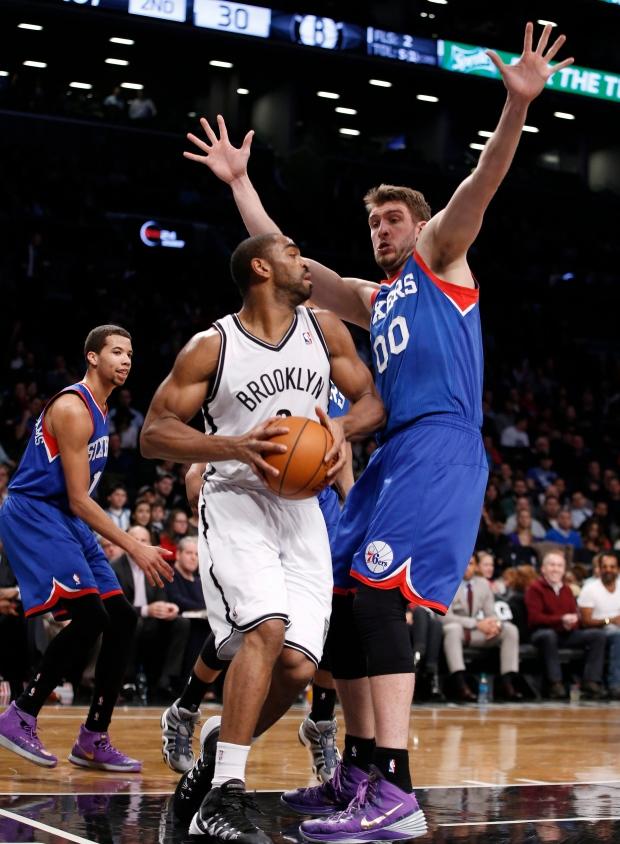 Brooklyn Nets forward Alan Anderson