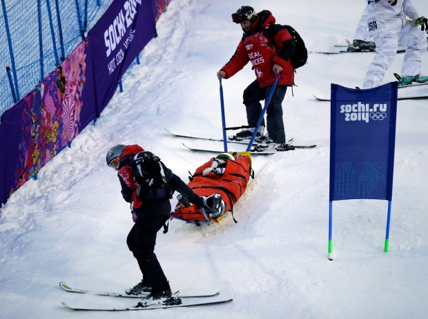 U.S. skier Heidi Kloser injured during training
