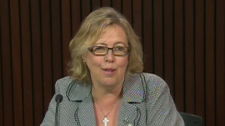 Elizabeth May lends her name to the Ontario Green Party as they fight for inclusion in the election debate.
