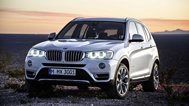 New BMW X3