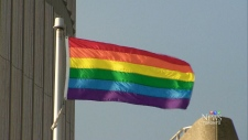 Rainbow flag staying up at Toronto city hall
