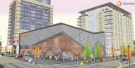 This artist's rendition shows the proposed Celebration Centre, which would be part of a new peforming arts complex in downtown London, Ont.