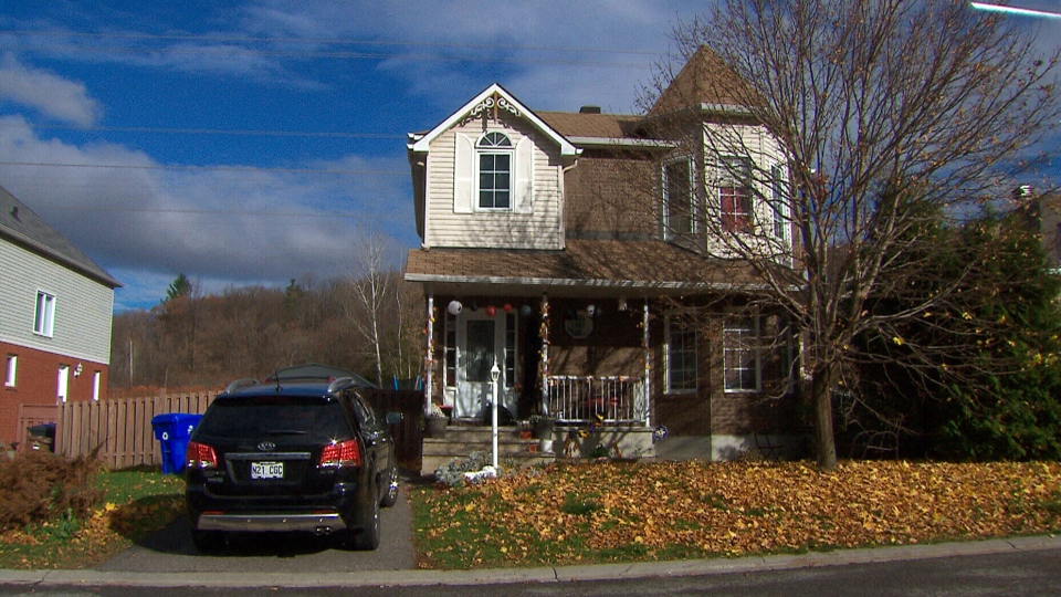 Suspended Senator Patrick Brazeau's home in Gatineau, Que.