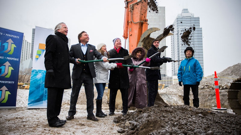 New Royal Alberta Museum sod-turning