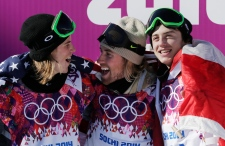 McMorris wins bronze medal