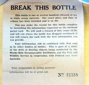 Message in a bottle found in N.S.