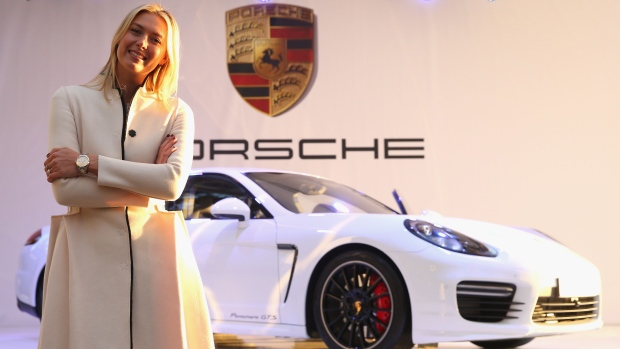 Porsche presents Maria Sharapova edition