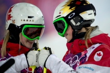 Justine Dufour-Lapointe  wins Olympic gold