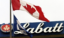 The Labatt's brewery is seen in Toronto Thursday March 31, 2005. (Aaron Harris / THE CANADIAN PRESS)
