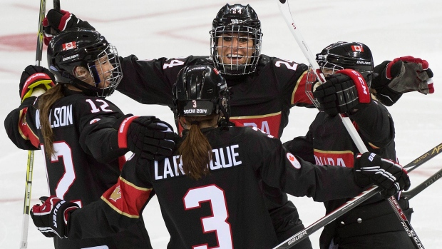Canadian women's hockey