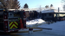 Windermere suspicious house fire