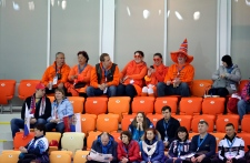 Empty seats Sochi