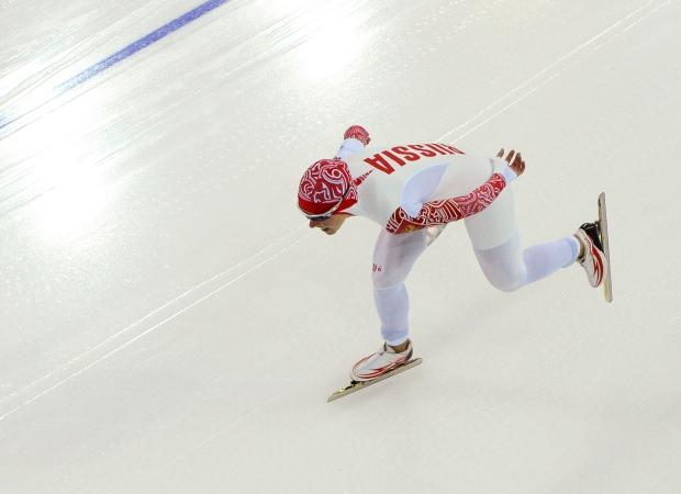 Olga Graf, Russian speedskater