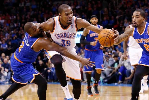 Kevin Durant in NBA game