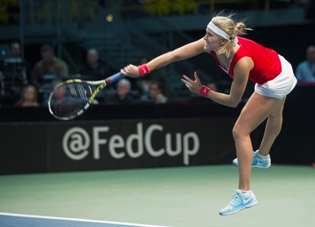 eugenie bouchard fed cup