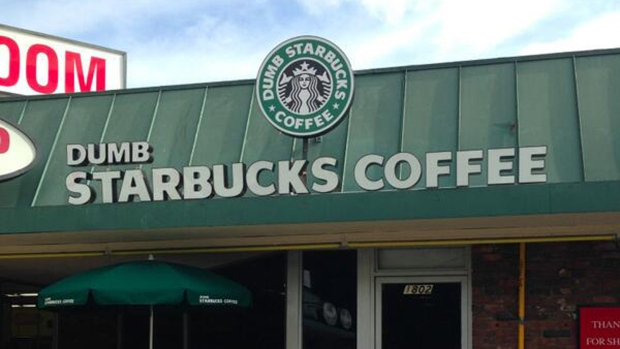 'Dumb Starbucks' shop baffles L.A.