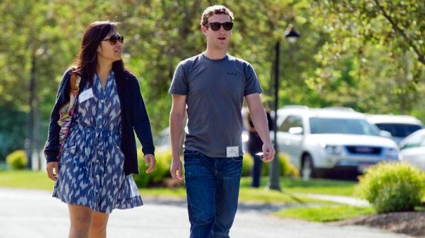 Mark Zuckerberg and Priscilla Chan in 2011