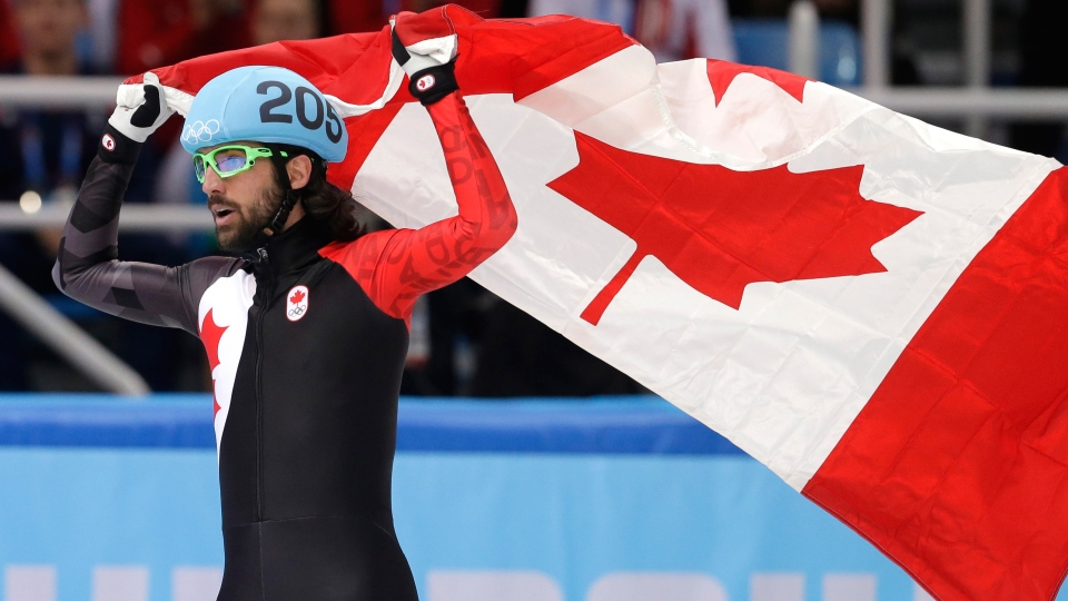 Charles Hamelin Wins Gold In Sochi Ctv News Montreal