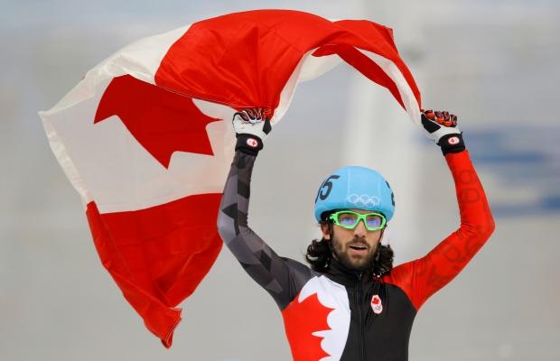 Canada's Charles Hamelin races to speedskating gold - CTV News