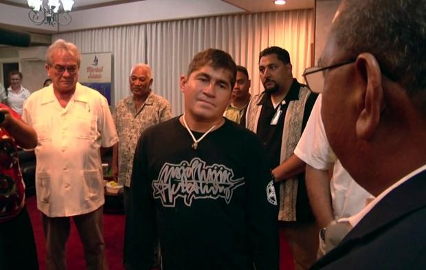 Jose Salvador Alvarenga heads home