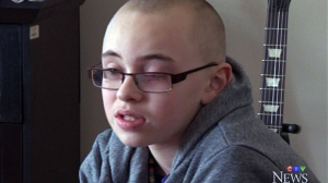 A 12-year-old in Nova Scotia is speaking out after being the target of bullies.