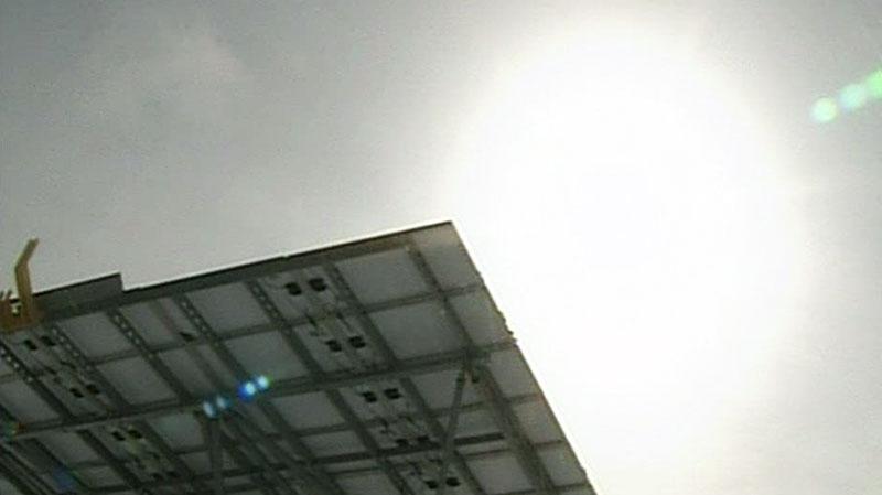 CTV London: Solar panels