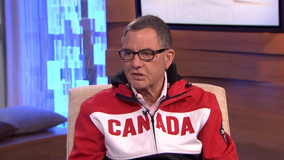 Vancouver councillor Tim Stevenson speaks about his trip advocating gay rights at the 2014 Winter Olympics. Feb. 10, 2014. (CTV)
