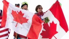 Canada gold bronze Dara Howell Kim Lamarre