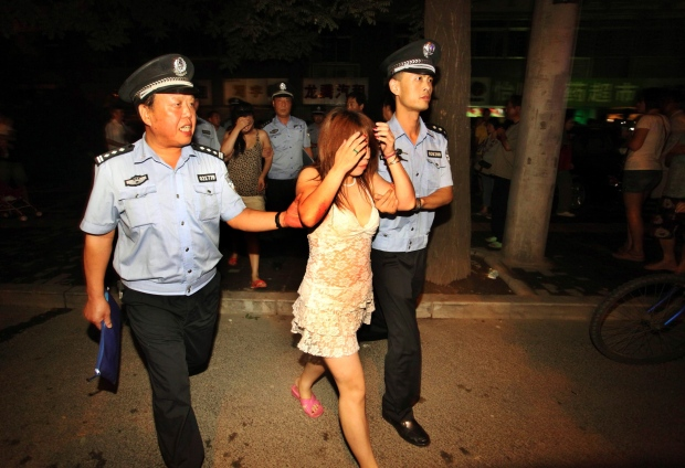 China cracks down on prostitution