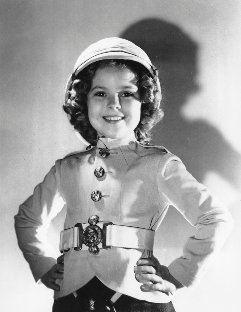 Shirley Temple as she appeared in 'Wee Willie Winkie' in 1937. (AP Photo)