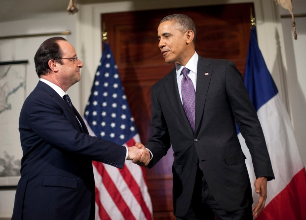 Hollande visits US
