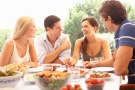 Ditch the romantic dinner and go on a double date if you want to add spark to your relationship this Valentine's Day, suggest the findings of a new study. (Monkey Business Images/shutterstock.com)