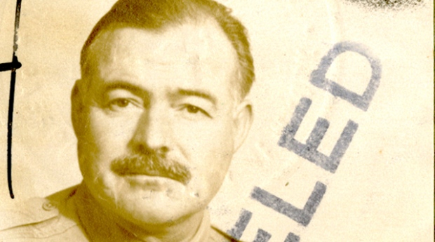 Ernest Hemingway passport