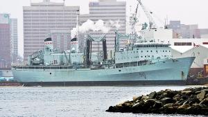 HMCS Preserver, a Royal Canadian Navy supply ship