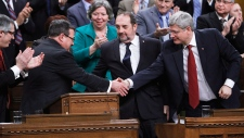 Jim Flaherty delivers the 2014 federal budget
