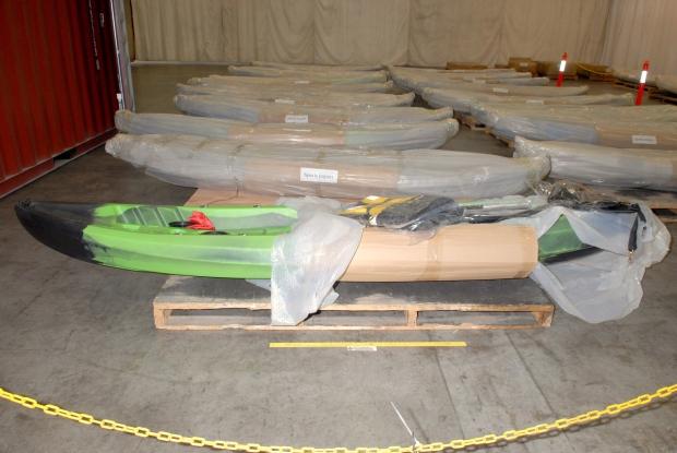 Australia kayak meth bust
