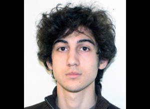 This photo provided Friday, April 19, 2013 by the Federal Bureau of Investigation shows Boston Marathon bombing suspect Dzhokhar Tsarnaev, charged with using a weapon of mass destruction in the bombings on April 15, 2013 near the finish line of the Boston Marathon. (AP / Federal Bureau of Investigation)