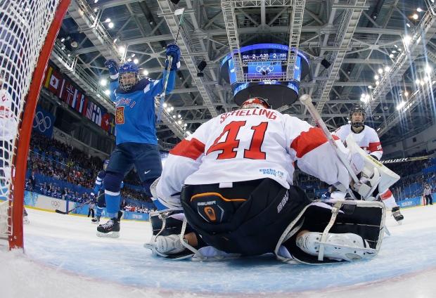 Finland beats Switzerland 4-3 in overtime