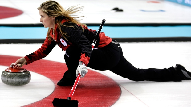 Womens curling sexy