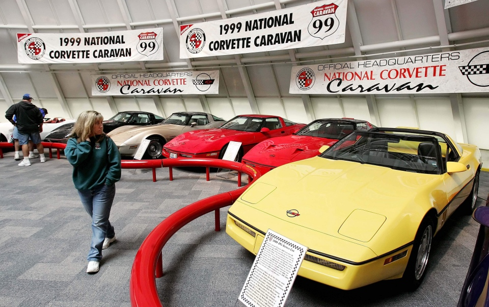 National Corvette Museum >> Sinkhole collapses part of National Corvette Museum in Kentucky; 8 cars damaged | CTV News | Autos