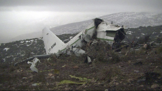 Algeria military plane crash