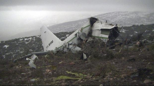 Algeria military plane crash