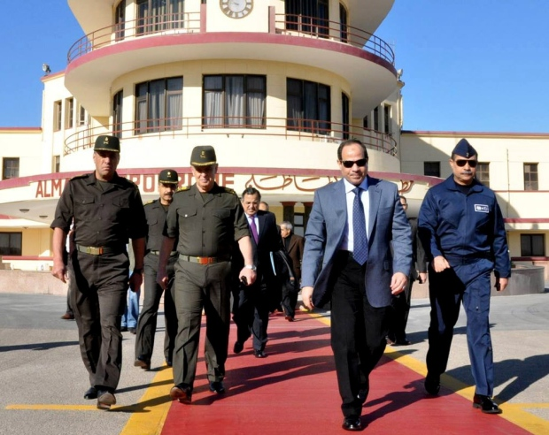 Egypt's army chief heads to Moscow