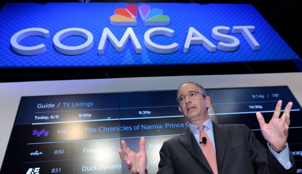 Comcast buys Time Warner
